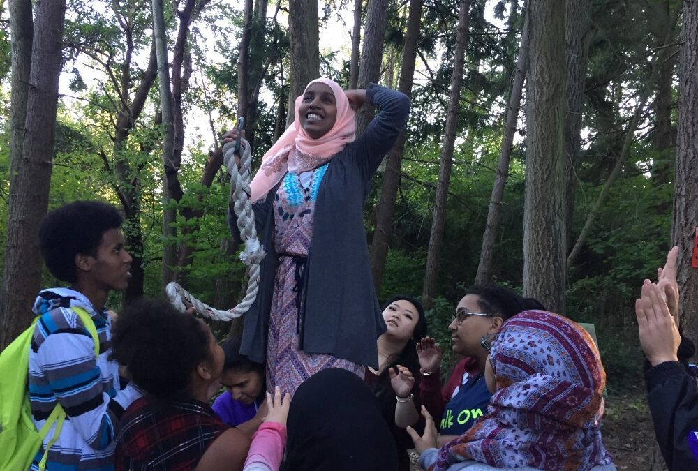 Abla Discusses Olympia Youth Day of Action