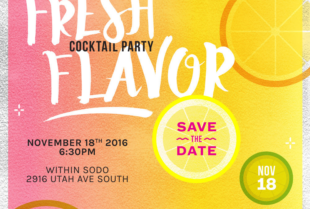 11.18.2016 Fresh Flavor Cocktail Party